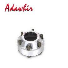 For NISSAN Patrol Safari GQ GU 1990-up Manual Aluminum alloy free wheel locking hubs B013 40250-01J01 4025001J01