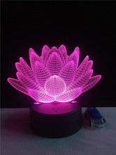 Buy lotus flower toy and get free shipping on aliexpress amazing 3d night lights lotus flower shape touch usb led light desk kid gifts toy decora mightylinksfo