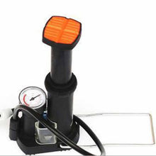 Mini High Pressure Air Pump Bike Tire Ball Floor Foot Mountain Bike Cycling Bicycle Pump With Pressure Gauges(China)
