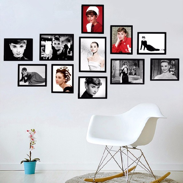 Audrey Hepburn Canvas Art Movie Poster Wall Picture Canvas Wall Art ...