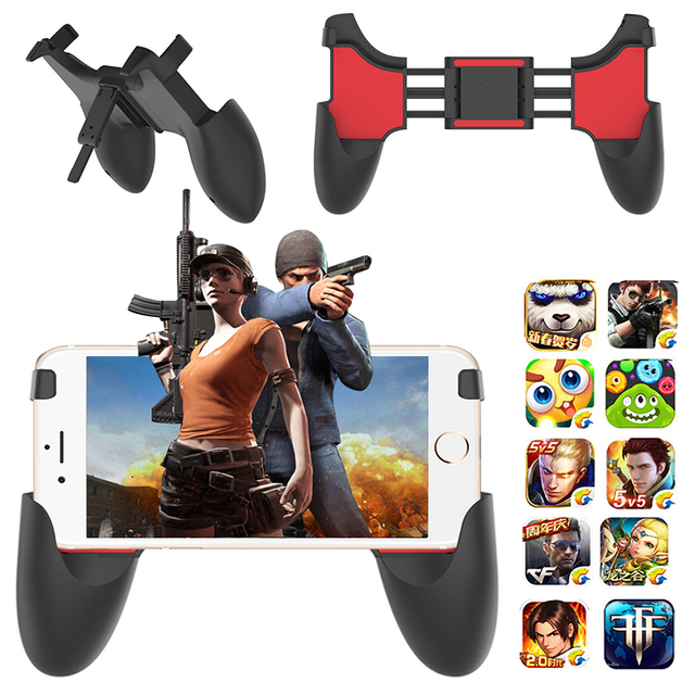 43c059736 Gamesir Joystick Grip Handle PUBG Mobile Gamepad Controller For Cell Phone  Gamer Control Stand Holder For iphone Xiaomi Android-in Gamepads from  Consumer ...