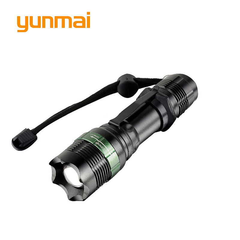 3800 Lumen Zoomable CREE XM-L T6 LED Flashlight Torch Zoom Lamp Light Black Waterproof Lanterna LED 3 Modes For 18650 Penlight professional for lighting cree 9 led mini led flashlight led light lanterna strong lumen penlight aaa flash light for hunting