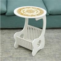 Korean Small Tea Table Table Table Creative Minimalist Modern Large Sized Apartment Garden Living Room Bedroom