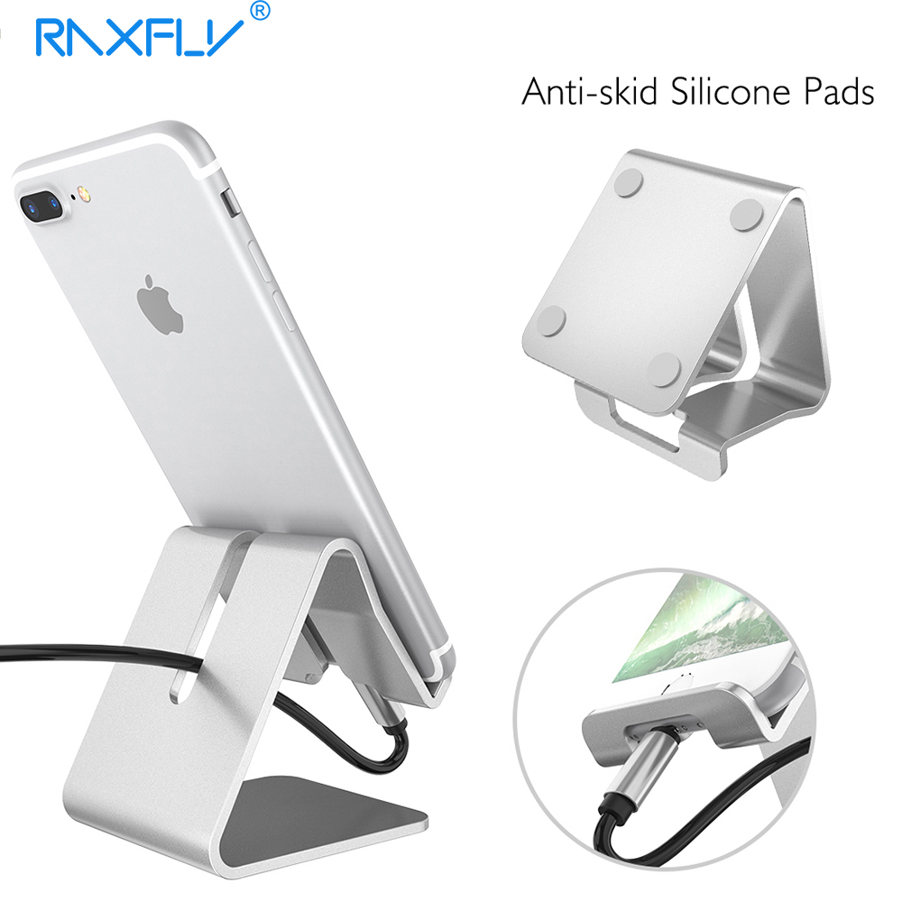 stand desktop for bracket tablet desk raxfly se products universal mobile aluminum iphone plus holder phone alloy