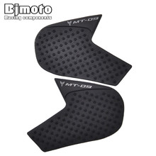 New Motorcycle Tank Pad Protector Sticker Decal Gas Fuel Knee Grip Traction Side 3M For Yamaha MT-09  2014-2015 for yamaha mt 09 mt09 mt 09 2014 to 2017 2018 motorcycle protector anti slip tank pad sticker gas knee grip traction side decal
