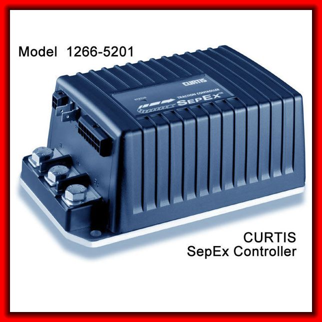 New Club Car Controller 1266 5201 Replace CURTIS PMC SepEx Controller 1266 5201