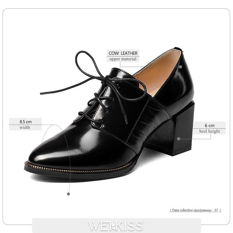 Tacón Alto 2019 Ocio Hembra marrón Dedo Zapatos Negro Calzado Wetkiss Señaló De Bombas Llegada Mujeres Maduro Nueva Las qOO0U7xP