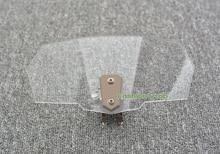 Flux d'air Réglable Pare-Brise Déflecteur de Vent Transparent Variable Spoiler Lame Pour BMW R 1200 GS K1200R S S1000RR F800R/GS/GT