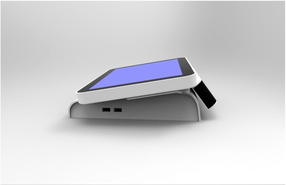 Highly Integrated 15 Inch Touch Pos Terminal With 80mm Thermal Printer