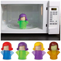 Microwave Cleaning Angry Mom Oven Steam Cleaner Disinfects With Vinegar and Water Household Cleaning Tools