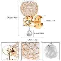 Crystal wall light modern wall lamp crystal pendant wall light holder E14 socket bulb included silver/gold