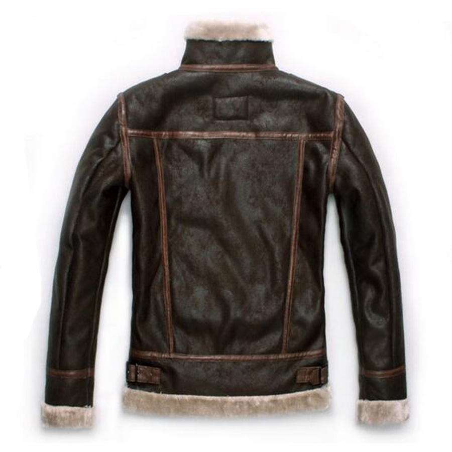 Biohazard Resident 4 Leon S Kennedy Evil Costume Leather Coat Jacket Cosplay PU Faur Jacket Long sleeve Winter Outerwear Men Boy - 3