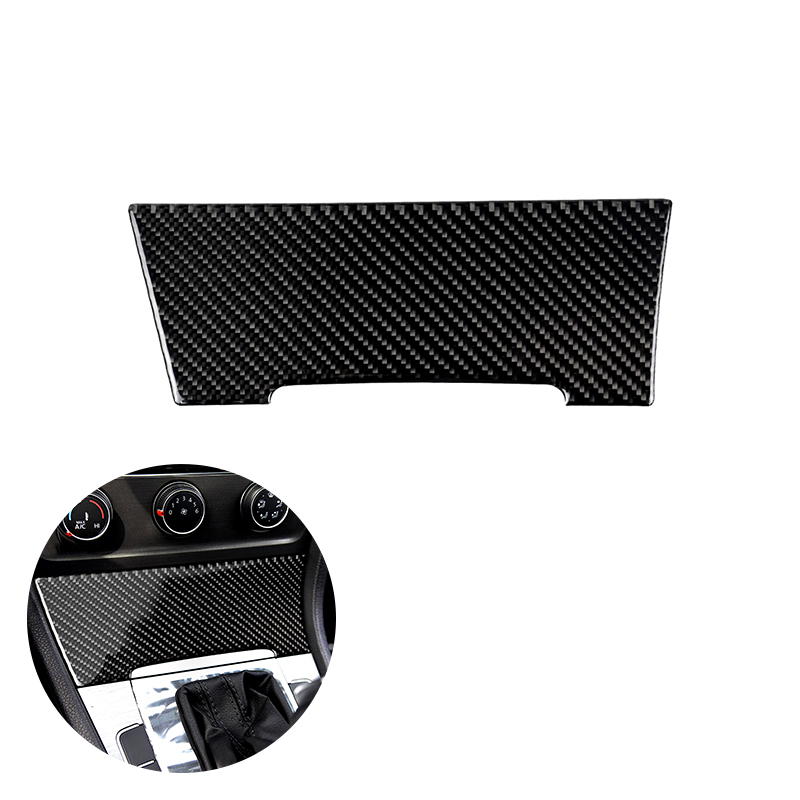 For VW Golf 7 MK7 VII 2013 2014 2015 2016 2019 Carbon Fiber Car Center Console Cigarette Lighter Panel Cover