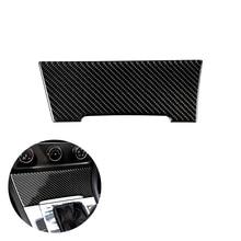 Para VW Golf 7 MK7 VII, 2013, 2014, 2015, 2016, 2017 de fibra de carbono compartimento central para coche para Panel de encendedor de cigarrillos de la cubierta