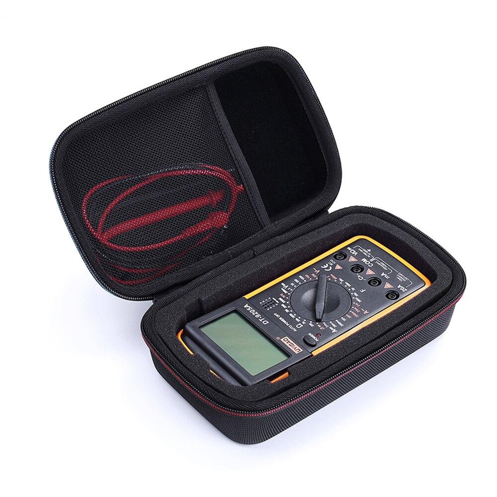 New PU Caso Capa Bolsa de Viagem Saco de Transporte para Fluke 117/115/116/114/113/ 88 v/F15B +/F17B +/F18B + e mais Multímetro Digital