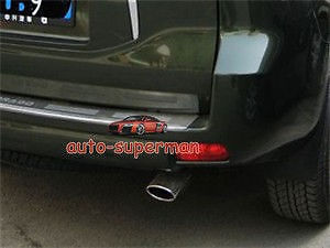 Embout de silencieux d'échappement chromé pour Toyota prado FJ150 2010
