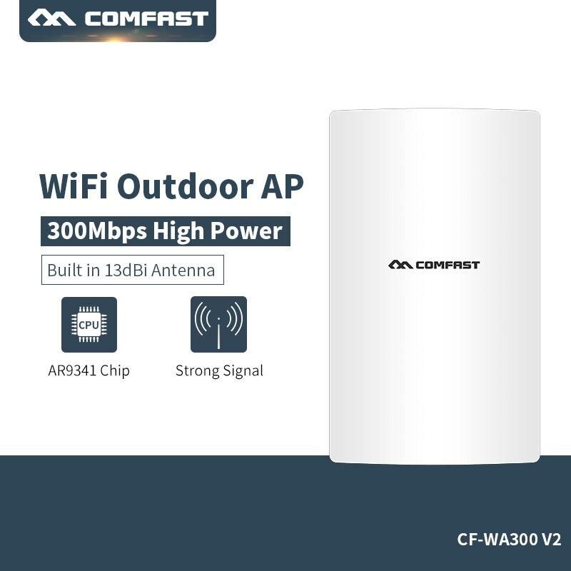 300 Mbps Sans Fil Wifi Répéteur 2.4g Haute Puissance 500 mw Extérieure Étanche Extender Wifi Routeur Antenne AP 10/ 100 Mbps LAN WAN RJ45