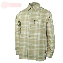 2019 mężczyźni koszula wędkarska mężczyźni koszule w szkocką kratę czy szybkie suche UPF30 oddychające sportowe na zewnątrz mężczyźni piesze wycieczki koszula Plus rozmiar L-2XL promocja tanie tanio Camping i piesze wycieczki spandex NYLON Pełna Suknem Moc suche men fishing shirts Pasuje prawda na wymiar weź swój normalny rozmiar