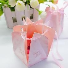 10pcs/lot Lovely European style  Pentagonal Festival gift bag wedding party kraft paper bags