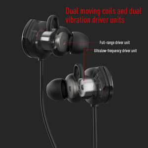 Image 4 - EDIFIER GM3SE gaming headset Dual mics Dual moving coils Precise Acoustic Positioning Arc shaped earwings earphone