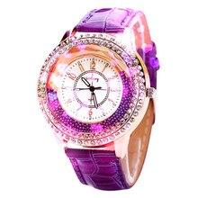 2018 модные женские туфли часы модные наручные часы класса люкс Круглый девушки часы классические легко читать женские часы Лидер продаж reloj mujer