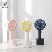 Oatsbasf USB Fan 3-Speed Adjustable Portable Mini Hand Fans Rechargeable Usb Charging Handheld
