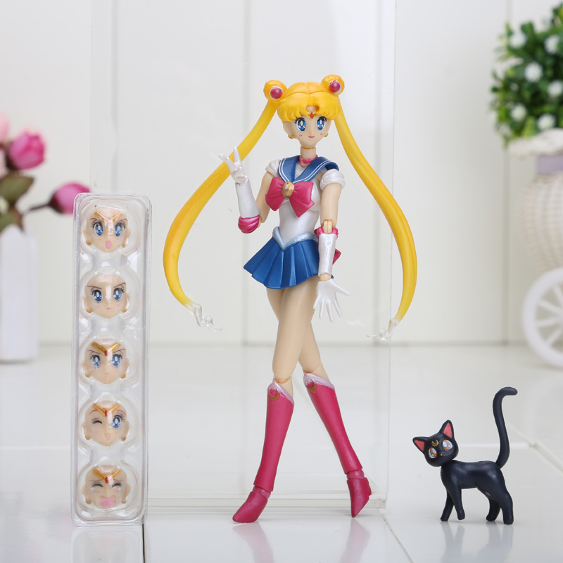 Anime Sailor Moon Dolls 15cm 5