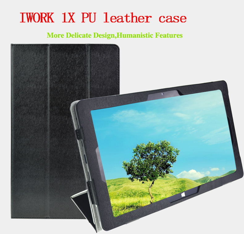 NEW 11.6inch Cube iwork1X Fashion PU Leather Case Stand For ALLDOCUBE iwork 1x cave