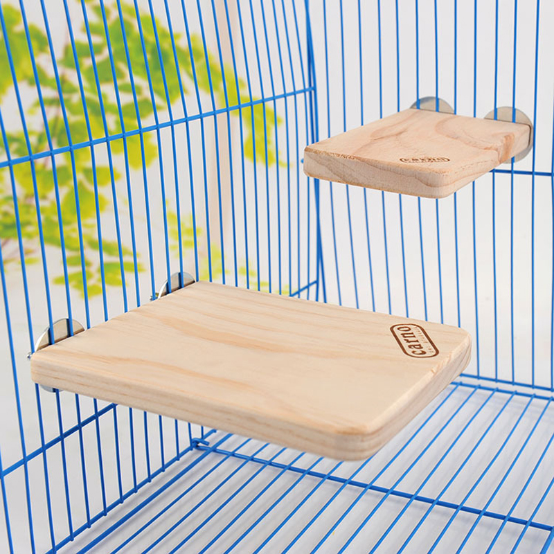 1pc High Quality 2 Size Small Animal Pet Log Wooden Totoro Hamster Squirral Platform Natural Wooden Board Cage Nest Climbing Toy