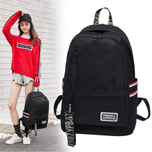 Backpack Female 2019 New Korean Version Of The Wild Casual Canvas Travel Male Large Capacity Campus Student Bag
