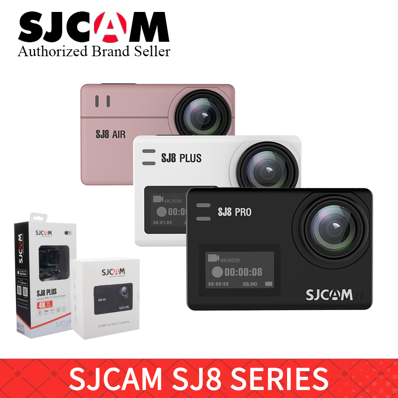 SJCAM SJ8 Series SJ8 Air & SJ8 Plus & SJ8 Pro 1290P yi 4K Action Camera WIFI Remote Control Waterproof Sports DV helmet go pro sjcam sj8 pro белый