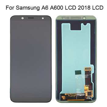 Black/Gold For Samsung Galaxy A6 LCD Display A6 A600 LCD Touch Screen Digitizer Assembly Replacement For Samsung A6 LCD