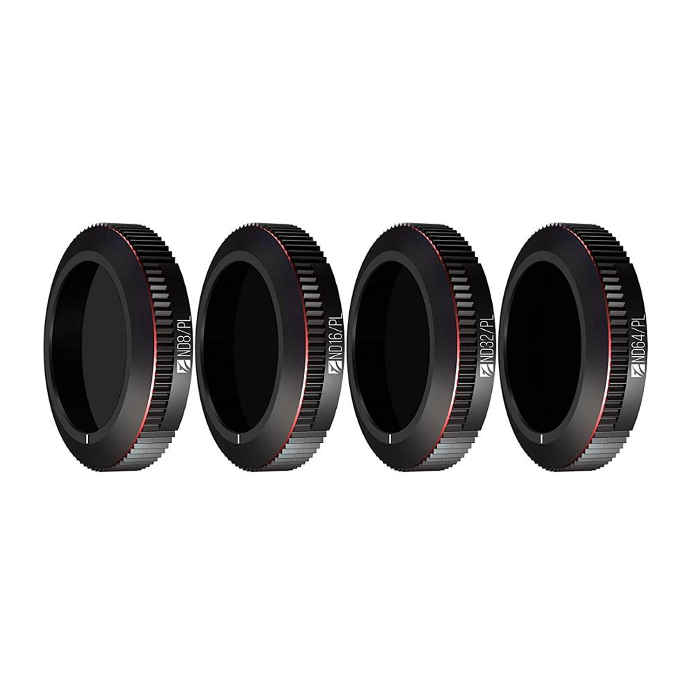 4K Series ND8 ND16 ND64//PL Camera Lens Filters Compatible with DJI Osmo Pocket Cpl Freewell All Day ND8//PL ND16//PL ND32//PL 8Pack ND4