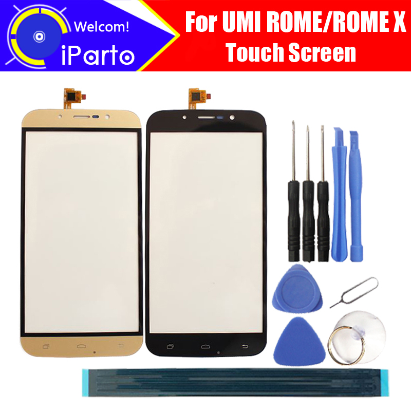 5.5 inch UMI ROME/ROME X Touch Screen Glass 100% High Quality Touch Screen Digitizer for UMI ROME ROME X + Free Tools+Adhesive