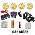 top quality car parking System Radar 12V 9 colors car LCD parking sensor kit display 4 sensors monitor Auto Reverse Backup