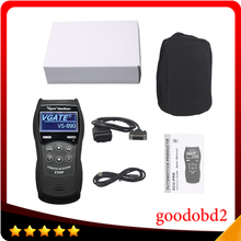 Vgate MaxiScan VS890 Automotive Scan Tool OBD2 Scanner Code Reader Universal Multi-Language Car Diagnostic Tool Vgate VS890