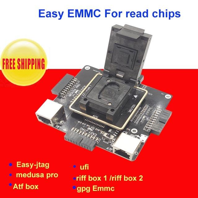 Communication Equipments Telecom Parts E-mate Box Emate Box E-socket 6 In 1 No Welding Bga169e Bga162 Bga221 Support Easyjtag Plus Atf Gpg Emmc Box Fixing Prices According To Quality Of Products
