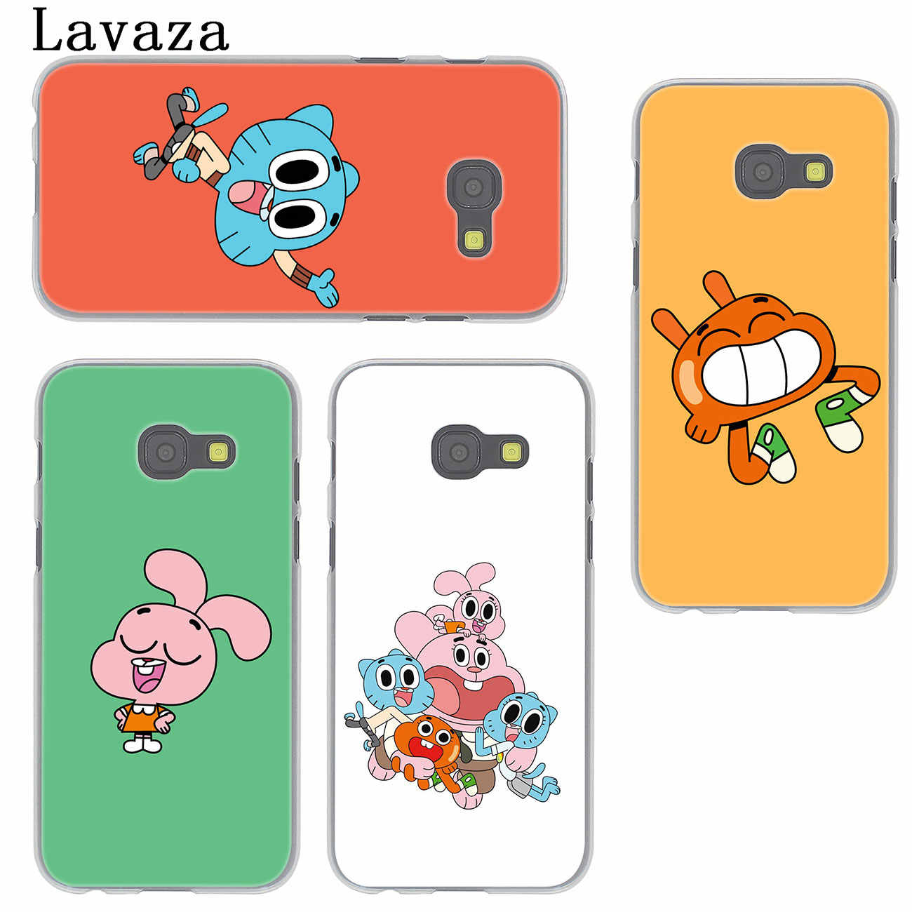 bfcac678b5 ... Lavaza The Amazing World of Gumball Phone Case for Samsung Galaxy J6 J5  J1 J2 J3 ...