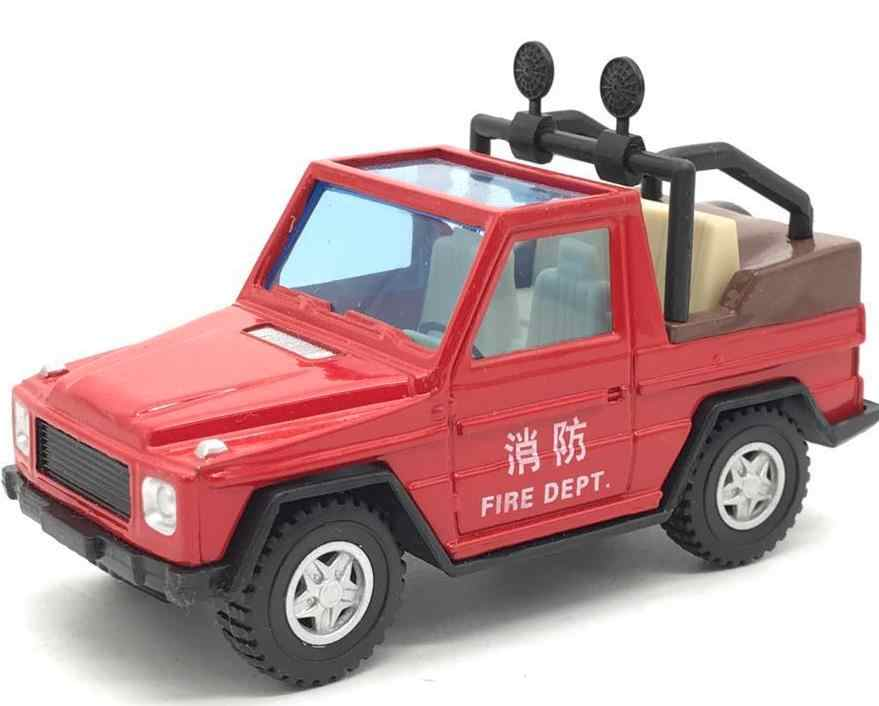 Free shipping High simulation diecast metal car,1:64 alloy fire engine SUV model toy,children's education toy vehicle