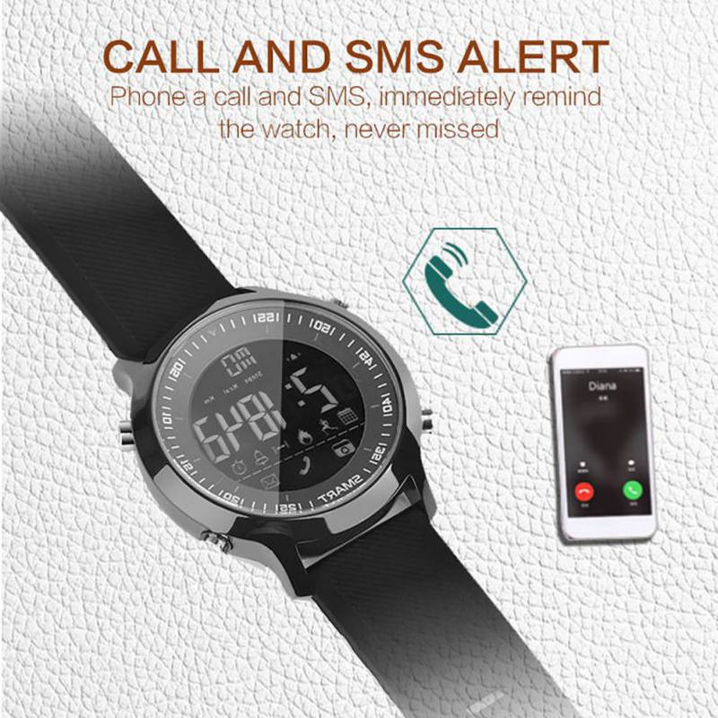Multifunction Smart Watch Sports Bluetooth Wristbands IP67 Waterproof Sleep Monitor Message Reminder For iOS Android
