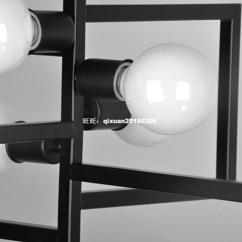 American Village Light Industry Retro-Stil Kronleuchter - Innenbeleuchtung - Foto 4