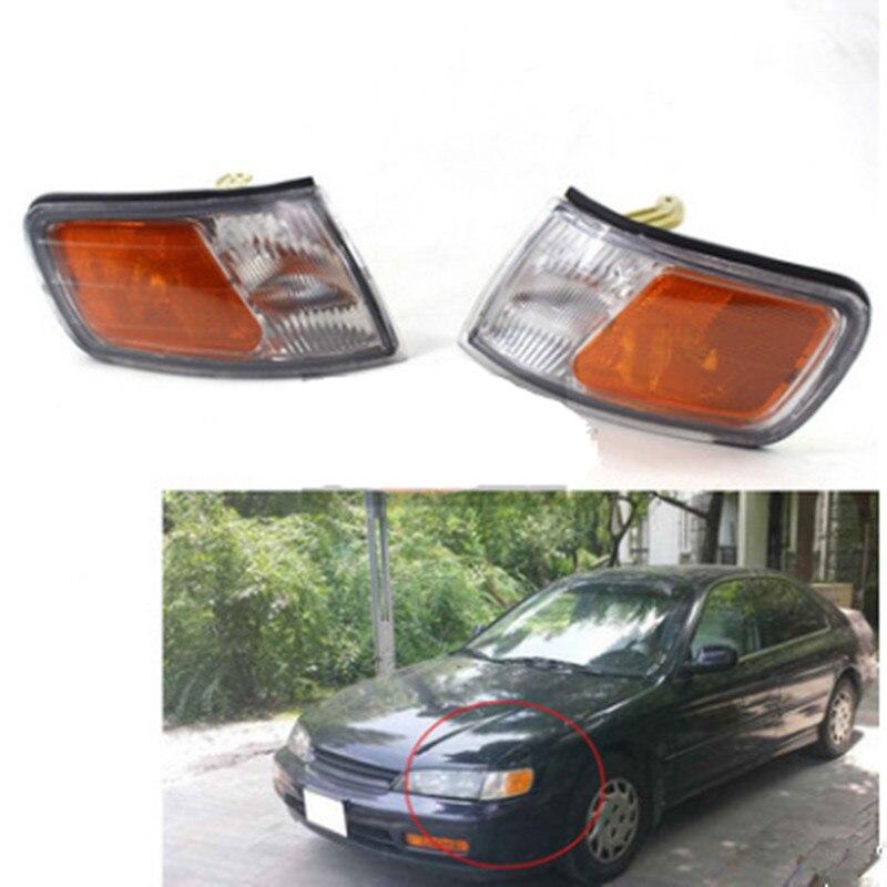 Left Driving Car Corner Park Light Turn Signal Marker Lamp For Honda Accord CD4 CD5 1994 1995 1996 1997