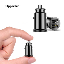 hot deal buy oppselve usb car charger for iphone samsung tablet 3.1a mini fast charger car-charger dual usb car phone charger adapter in car