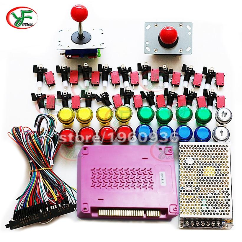 jamma arcade bundles kits box 5s 1299 in 1 game board power supply w rh aliexpress com