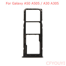 OEM For Samsung Galaxy A50 A505 / A30 A305 Dual SIM Tray Mic