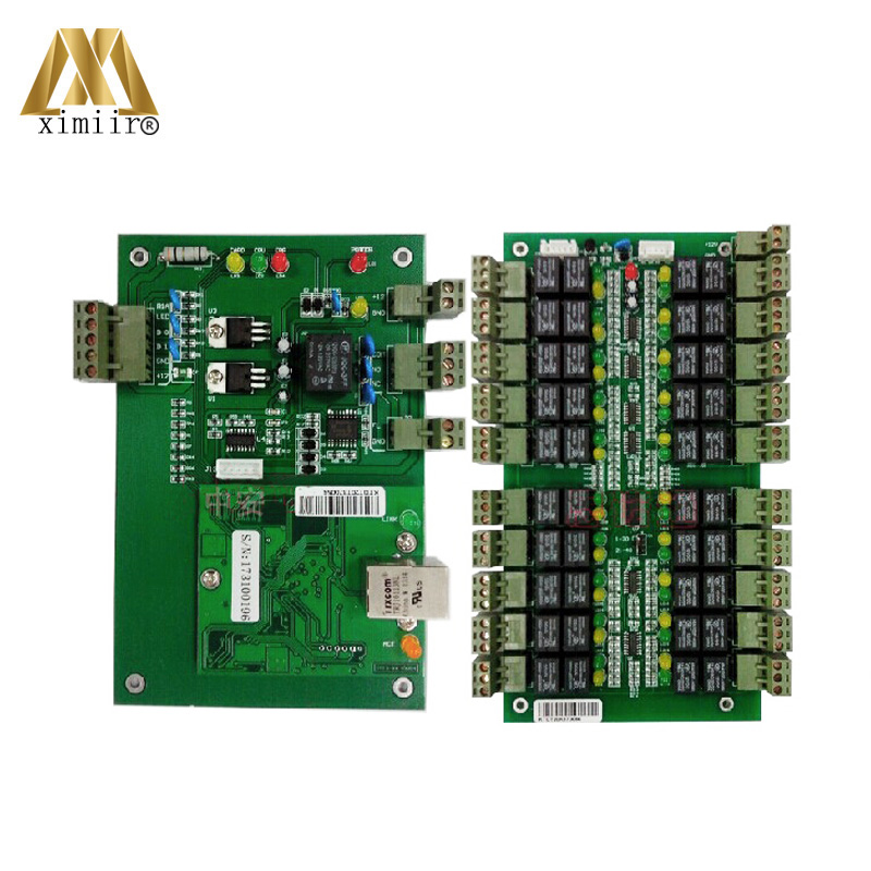 TCP/IP 20 Floors Lift Access Control System Biometric Fingerprint And RFID Elevator Access Control Board Lift Controller System