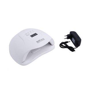 SUN X5 Plus UV LED Сушилка для ногтей 54 Вт лампа для отверждения гель-лака с датчиком движения ЖК-дисплей быстросохнущая УФ-лампа для ногтей инструмент для маникюра