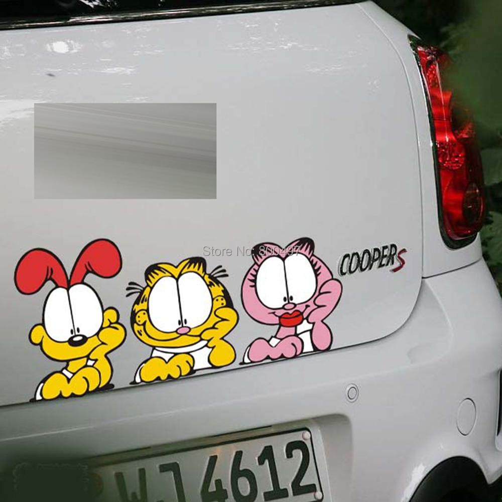 10 X Mobil Styling 3 Lucu Menonton Garfields Mengintip Krezi Kamis 25  Karpet Pp Rug 100x150 Ter Free Ongkir Getsubject Els Cs 718 1