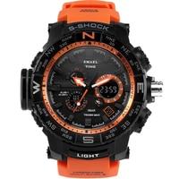 Men S Sports Watches Male Fashion Casual Waterproof Quartz LED Digital Military Electronic Watch Men Clock