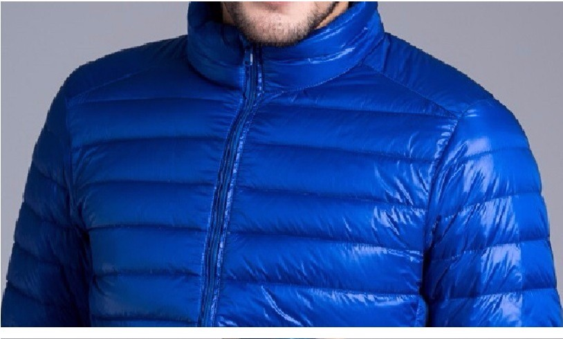 Men casual warm Jackets solid thin breathable Winter Jacket Mens outwear Coat Lightweight parka Plus size XXXL hombre jaqueta 16